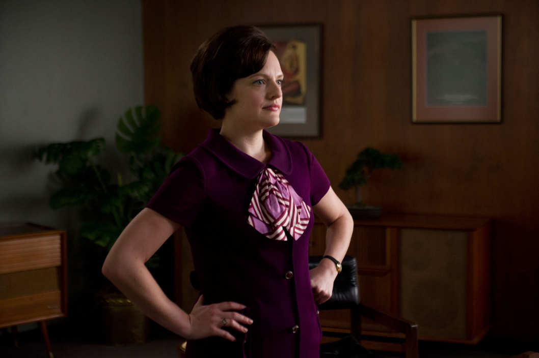 Peggy Olson (Elisabeth Moss) - Mad Men - Season 6, Episode 3 - Photo Credit: Ron Jaffe/AMC