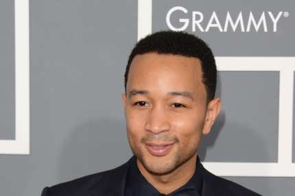 LOS ANGELES, CA - FEBRUARY 10:  Musician John Legend arrives at the 55th Annual GRAMMY Awards at Staples Center on February 10, 2013 in Los Angeles, California.  (Photo by Jason Merritt/Getty Images)