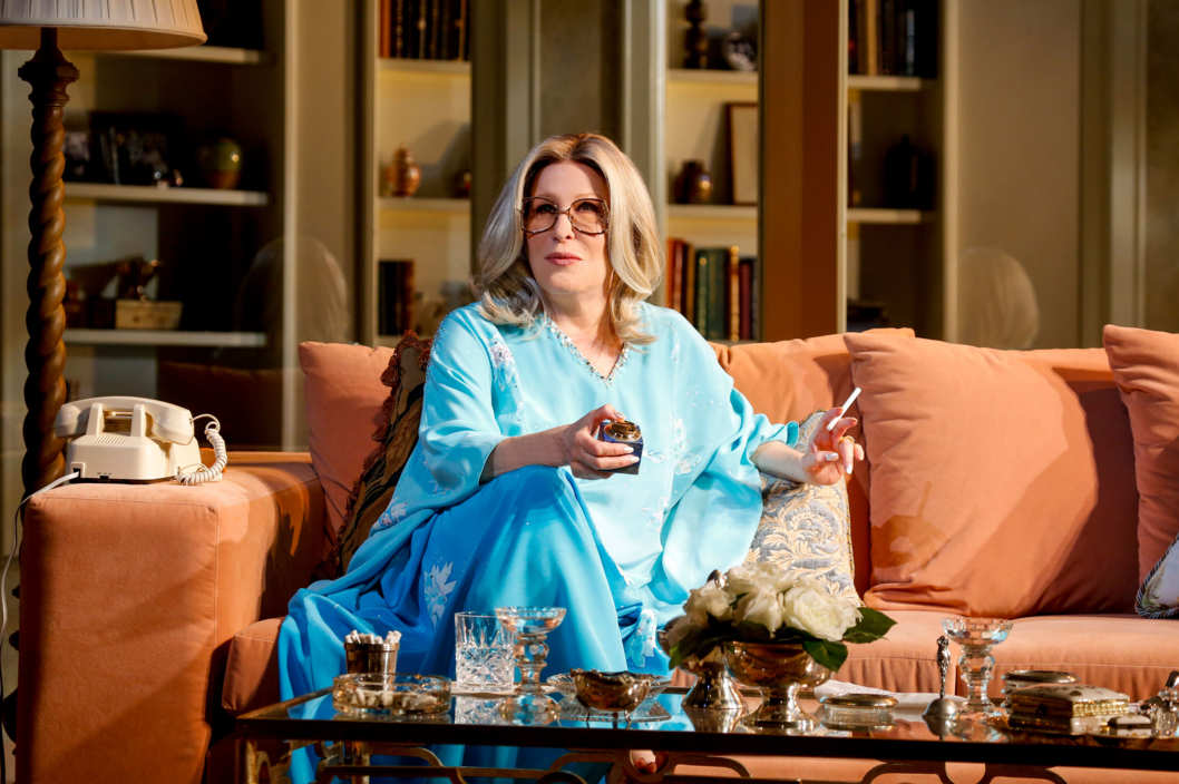 "Photo: BETT MIDLER in ""I'LL EAT YOU LAST: A Chat with Sue Mengers""; written by John Logan & directed by Joe Mantello; dress rehearsal photographed: Thursday, March 4, 2013; 7:00 PM at Booth Theatre; NYC."