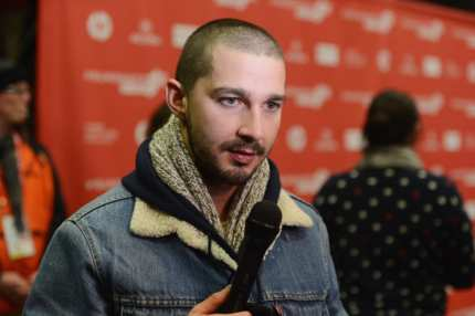 "PARK CITY, UT - JANUARY 21:  Actor Shia LeBouf attends ""The Necessary Death Of Charlie Countryman"" premiere at Eccles Center Theatre during the 2013 Sundance Film Festival on January 21, 2013 in Park City, Utah.  (Photo by Jason Merritt/Getty Images)"