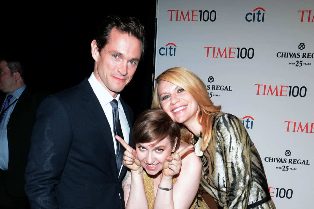 Hugh Dancy, Lena Dunham, Claire Danes== TIME 100 GALA: TIME'S 100 MOST INFLUENTIAL PEOPLE IN THE WORLD== Jazz at Lincoln Center, NYC== April 23, 2013== ?Patrick McMullan== Photo - PATRICK MCMULLAN/PatrickMcMullan.com== ==
