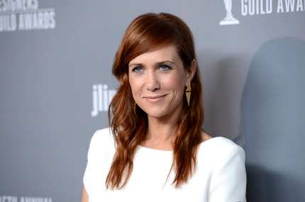BEVERLY HILLS, CA - FEBRUARY 19:  Actress Kristen Wiig attends the 15th Annual Costume Designers Guild Awards with presenting sponsor Lacoste at The Beverly Hilton Hotel on February 19, 2013 in Beverly Hills, California.  (Photo by Jason Merritt/Getty Images for CDG)