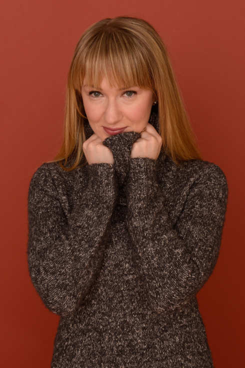 Actress Halley Feiffer poses for a portrait during the 2013 Sundance Film Festival at the Getty Images Portrait Studio at Village at the Lift on January 21, 2013 in Park City, Utah.
