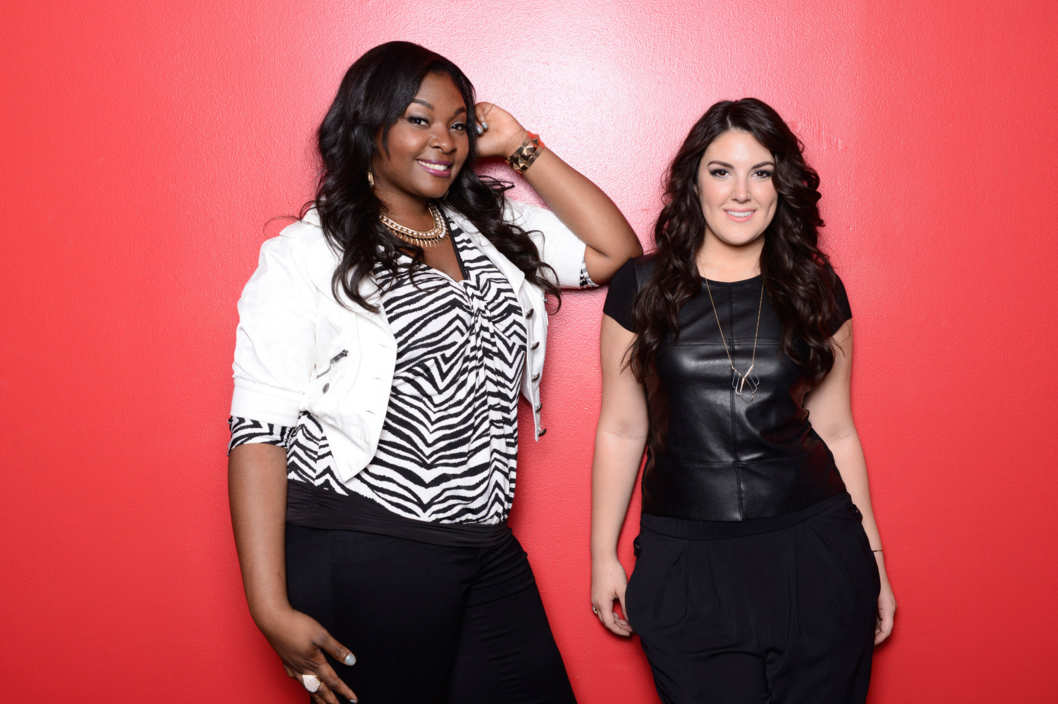 AMERICAN IDOL: The Final 2: L-R: Candice Glover and Kree Harrison. CR: Michael Becker / FOX. Copyright: FOX.