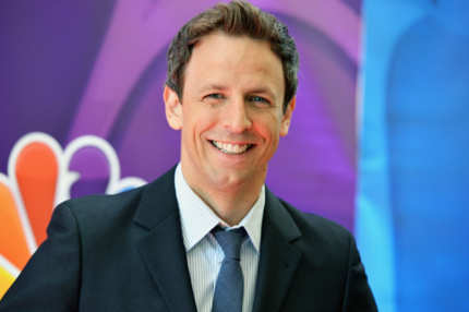 NEW YORK, NY - MAY 13: Actor Seth Meyers attends 2013 NBC Upfront Presentation Red Carpet Event at Radio City Music Hall on May 13, 2013 in New York City.  (Photo by Slaven Vlasic/Getty Images)