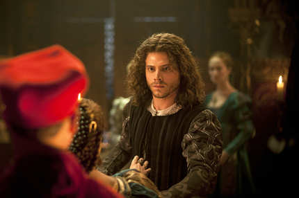 Francois Arnaud as Cesare Borgia in The Borgias