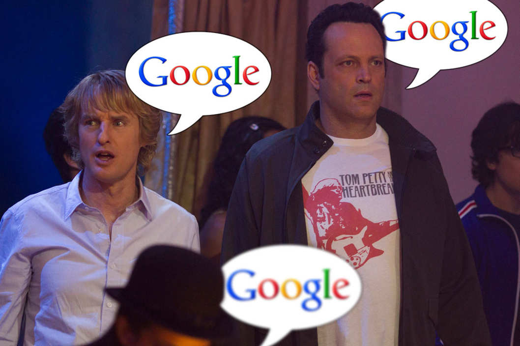 IT-100 - Nick (Owen Wilson) and Billy (Vince Vaughn) arrive for the internship at Google.