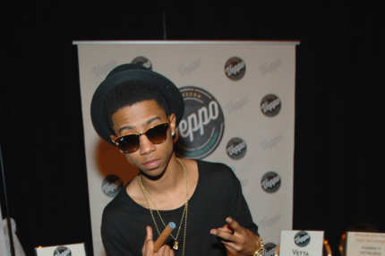 LAS VEGAS, NV - MAY 17:  Recording artist Lil Twist attends the Billboard Music Awards gifting lounge presented by Kari Feinstein PR at the MGM Grand Garden Arena on May 17, 2013 in Las Vegas, Nevada.  (Photo by Bryan Steffy/WireImage)