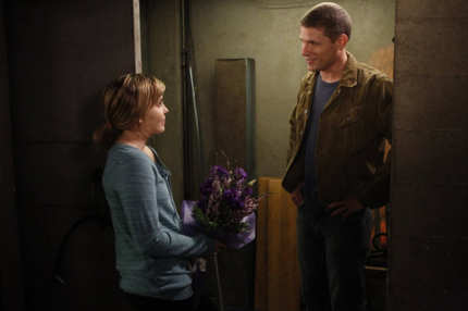 "PARENTHOOD -- ""I'll Be Right Here"" Episode 406 -- Pictured: (l-r) Mae Whitman as Amber Holt, Matt Lauria as Ryan York -- (Jordin Althaus/NBC)"