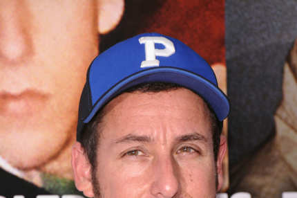 "Actor Adam Sandler attends the ""Grown Ups 2"" New York Premiere at AMC Lincoln Square Theater on July 10, 2013 in New York City."