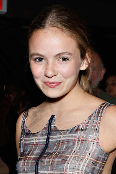 Actress Morgan Saylor attends the Honor fashion show during Mercedes-Benz Fashion Week Spring 2014 at Eyebeam  on September 5, 2013 in New York City.
