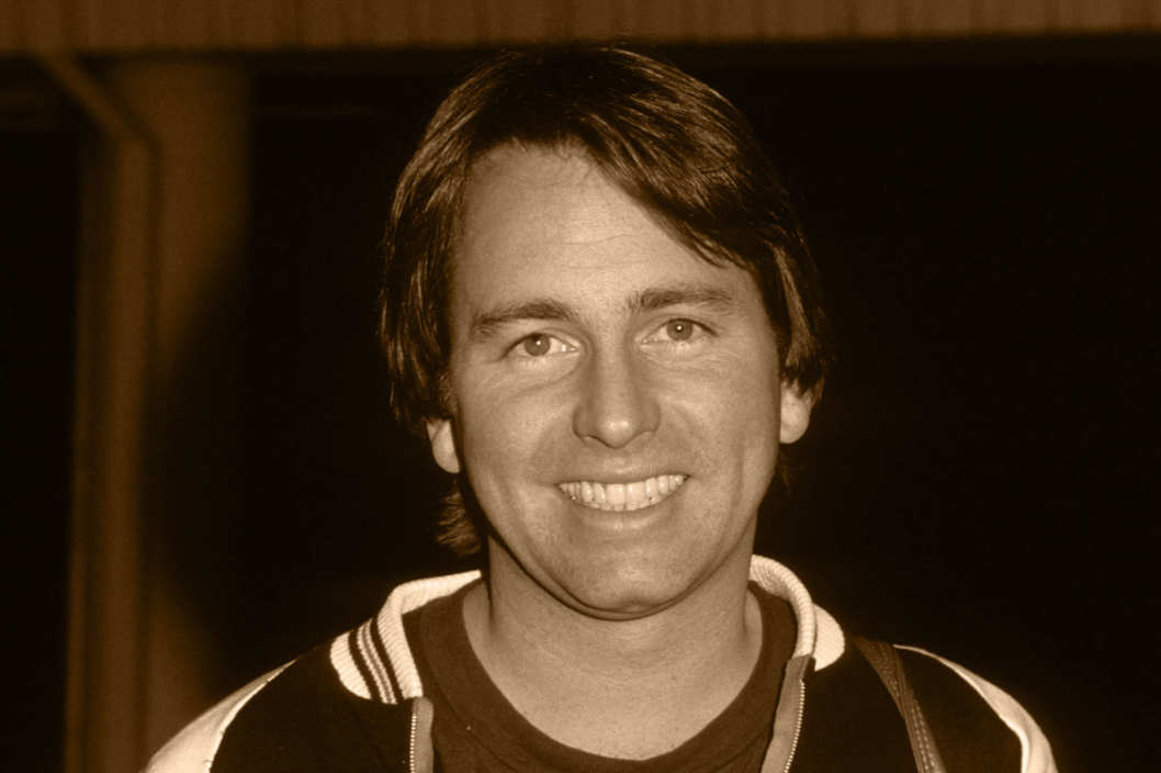 John Ritter at The CBS Studios during John Ritter Sighting at CBS TV City- January 5, 1978 at CBS TV City in Los Angeles, California, United States.