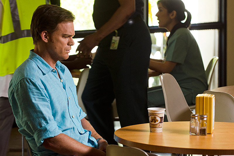 Michael C. Hall as Dexter Morgan in Dexter (Season 8, episode 12) .