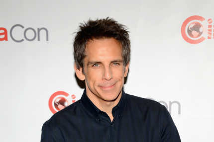"LAS VEGAS, NV - APRIL 18:  Actor Ben Stiller arrives at a Twentieth Century Fox presentation to promote the upcoming film ""The Secret Life of Walter Mitty"" at Caesars Palace during CinemaCon, the official convention of the National Association of Theatre Owners, on April 18, 2013 in Las Vegas, Nevada.  (Photo by Ethan Miller/Getty Images)"