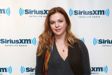 NEW YORK, NY - SEPTEMBER 18:  Actress Amber Tamblyn visits at SiriusXM Studios on September 18, 2013 in New York City.  (Photo by Robin Marchant/Getty Images)