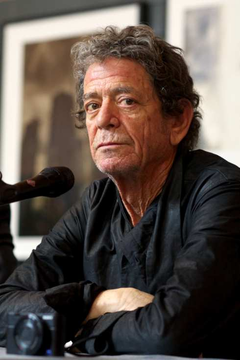 MADRID, SPAIN - NOVEMBER 16:  Lou Reed presents his photography exhibition at the Matadero cultural center on November 16, 2012 in Madrid, Spain.  (Photo by Carlos Alvarez/Getty Images)