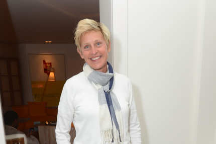 EAST HAMPTON, NY - AUGUST 24:  Ellen Degeneres attends 4th Annual Apollo In The Hamptons Benefit on August 24, 2013 in East Hampton, New York.  (Photo by Shahar Azran/WireImage)