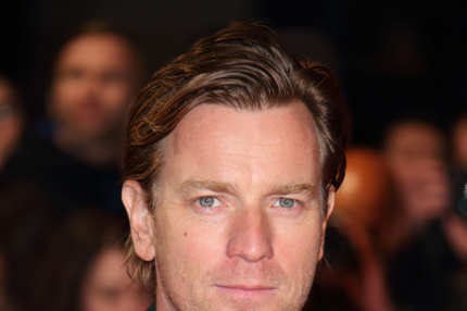 "LONDON, ENGLAND - OCTOBER 18:  Ewan McGregor attends a screening of ""Locke"" during the 57th BFI London Film Festival at Odeon West End on October 18, 2013 in London, England.  (Photo by Mike Marsland/WireImage)"