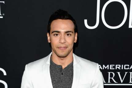 "LOS ANGELES, CA - AUGUST 13:  Actor Victor Rasuk arrives at the screening of Open Road Films and Five Star Feature Films' ""Jobs"" at Regal Cinemas L.A. Live on August 13, 2013 in Los Angeles, California.  (Photo by Jason Merritt/Getty Images)"
