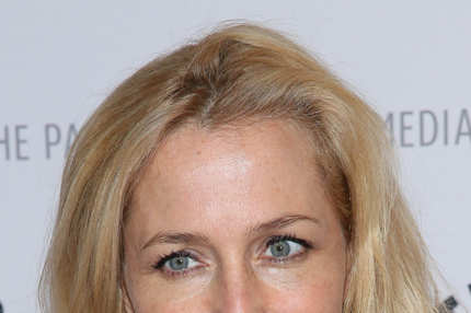 "NEW YORK, NY - OCTOBER 12:  Gillian Anderson attends ""The Truth Is Here: David Duchovny And Gillian Anderson On The X-Files"" presented by the Paley Center For Media at Paley Center For Media on October 12, 2013 in New York City.  (Photo by Rob Kim/Getty Images)"