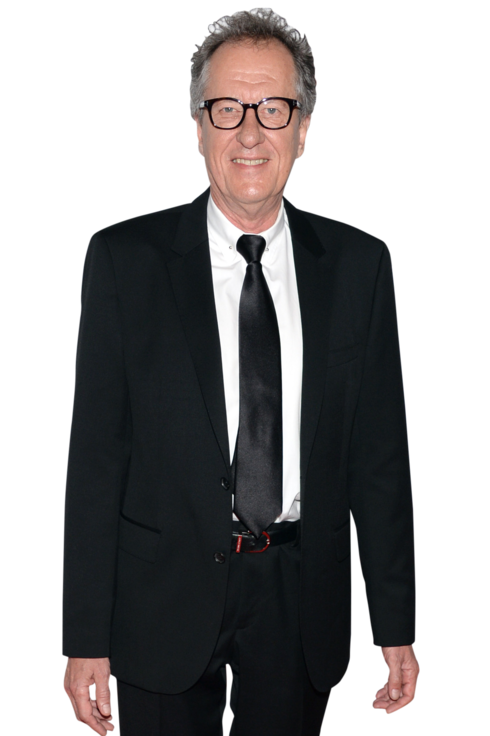 Actor Geoffrey Rush arrives at the 17th annual Hollywood Film Awards at The Beverly Hilton Hotel on October 21, 2013 in Beverly Hills, California.