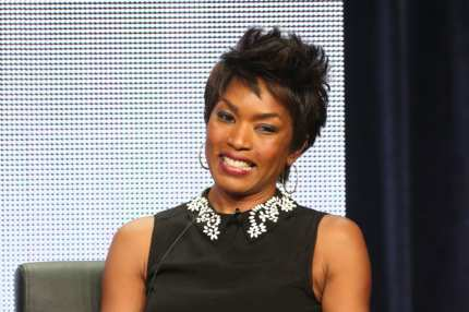 "BEVERLY HILLS, CA - AUGUST 02:  (L-R) Actress Angela Bassett speaks onstage during the ""American Horror Story: Coven"" panel discussion at the FX portion of the 2013 Summer Television Critics Association tour - Day 10 at The Beverly Hilton Hotel on August 2, 2013 in Beverly Hills, California.  (Photo by Frederick M. Brown/Getty Images)"