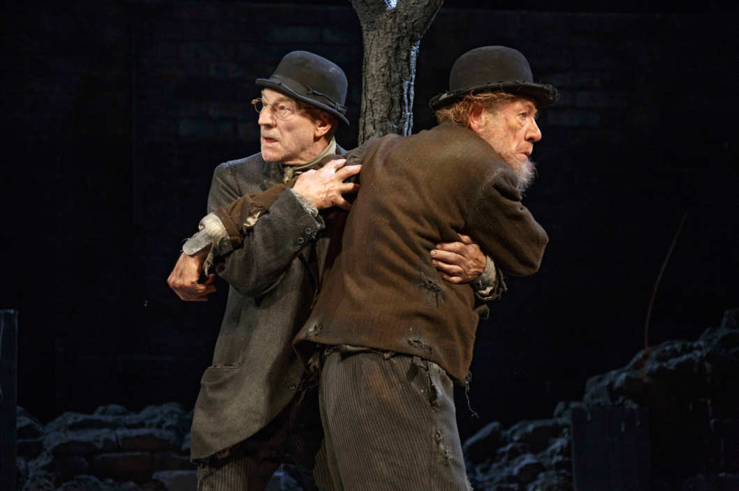 Waiting for Godot Cort Theatre  Ian McKellen Patrick Stewart