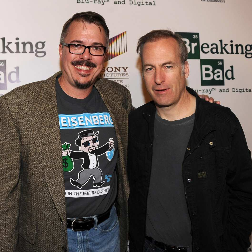 "Creator Vince Gilligan at the screening of ""No Half Measures: Creating The Final Season Of Breaking Bad"" DVD Launch at Pacific Theatres at the Grove on November 25, 2013 in Los Angeles, California."