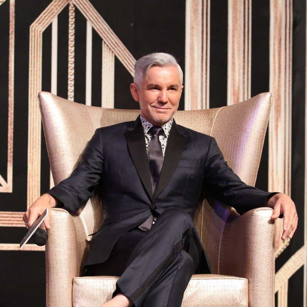HONGKONG,CHINA - AUGUST 29:Director Baz Luhrmann attends press conference of film The Great Gatsby on Thursday August 29,2013 in Beijing,China.(Photo by TPG/Getty Images)