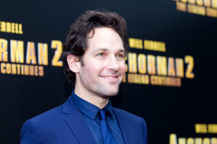 "SYDNEY, AUSTRALIA - NOVEMBER 24:  Paul Rudd arrives at the ""Anchorman 2: The Legend Continues"" Australian premiere on November 24, 2013 in Sydney, Australia.  (Photo by Caroline McCredie/Getty Images for Paramount Pictures International)"