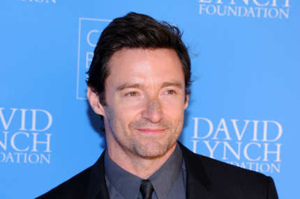 "NEW YORK, NY - DECEMBER 03:  Actor Hugh Jackman attends David Lynch Foundation Presents: ""Change Begins Within"" Benefit Gala at Conrad New York on December 3, 2013 in New York City.  (Photo by Ilya S. Savenok/Getty Images)"