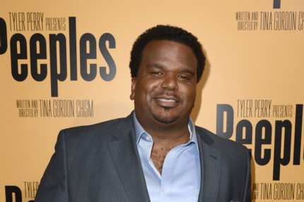 "HOLLYWOOD, CA - MAY 08:  Actor Craig Robinson arrives at the premiere of ""Peeples"" presented by Lionsgate Film and Tyler Perry at ArcLight Hollywood on May 8, 2013 in Hollywood, California.  (Photo by Kevin Winter/Getty Images)"