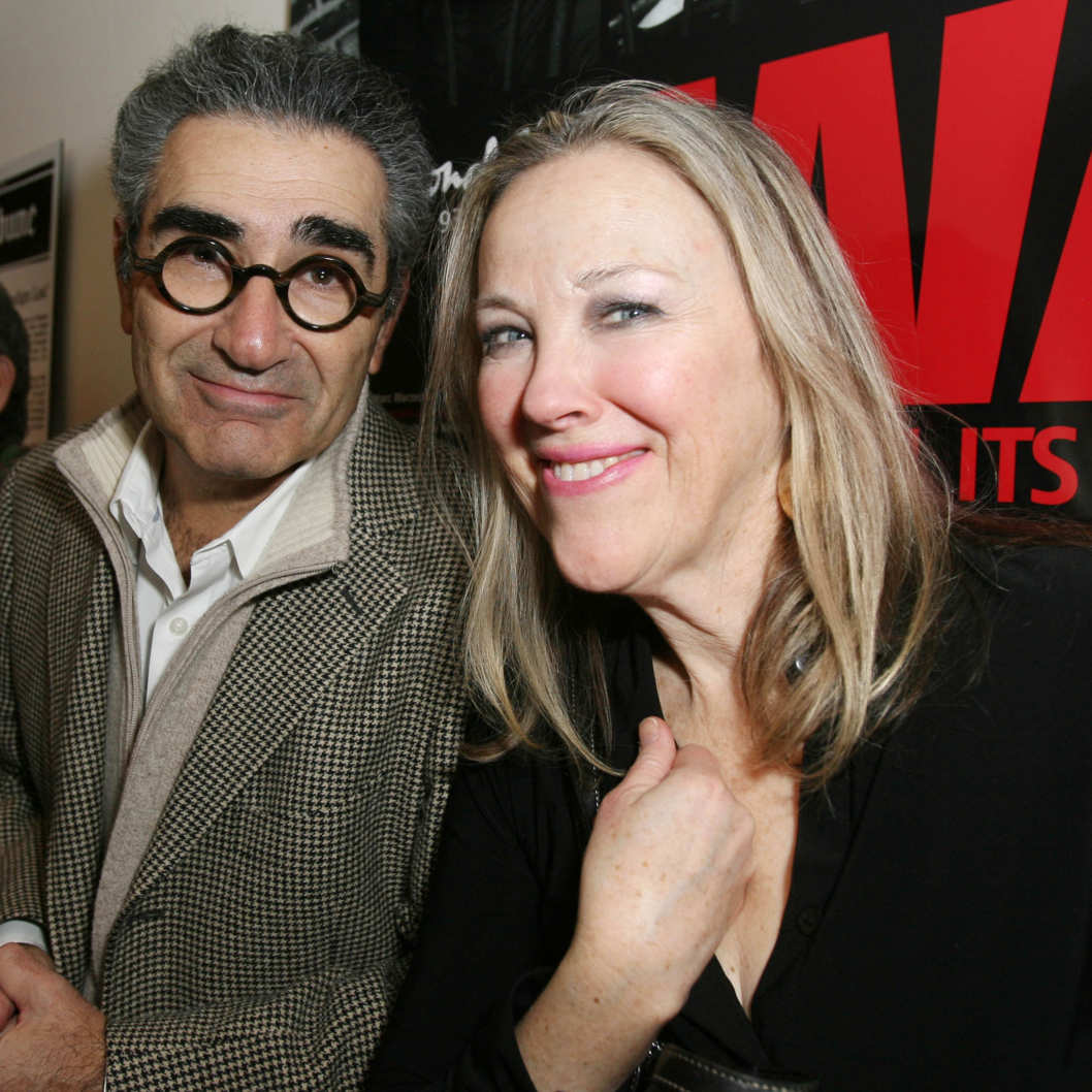 Eugene Levy and Catherine O'Hara attend the SCTV Reunion private after-party honoring The Second City 50th Anniversary at 1616 N. Wells Avenue on December 11, 2009 in Chicago, Illinois.