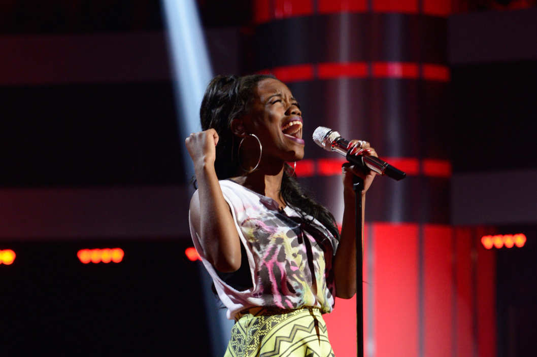Bria Anai sings for a spot in the Final 13 on AMERICAN IDOL XIII