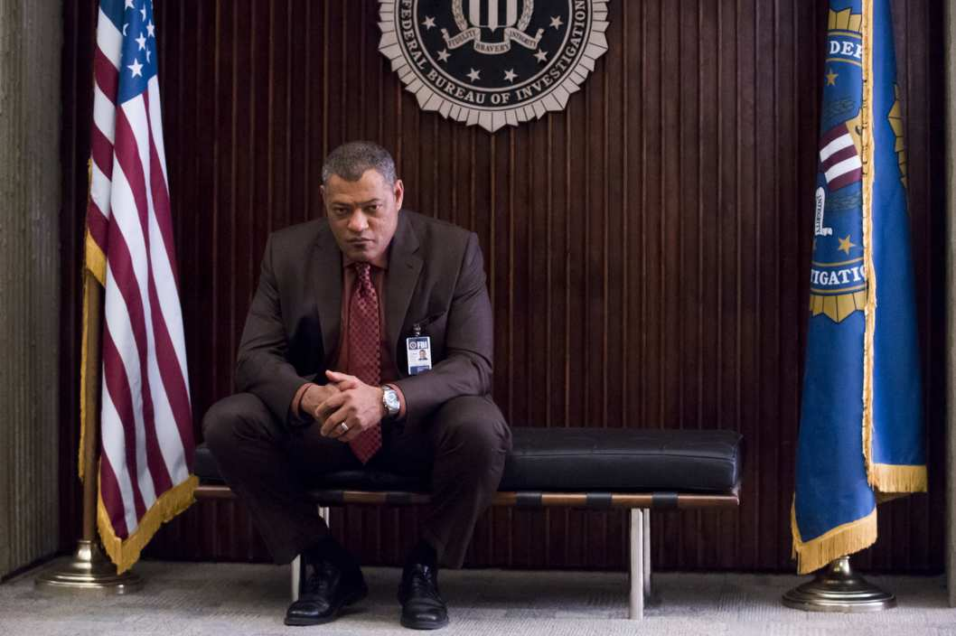 "HANNIBAL -- ""Kaiseki"" Episode 201 -- Pictured: Laurence Fishburne as Jack Crawford -- (Photo by: Brooke Palmer/NBC)"