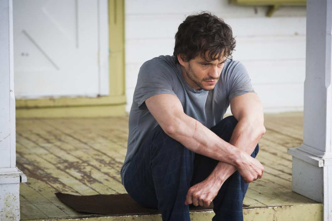 "HANNIBAL -- ""Savoureux"" Episode 113 -- Pictured: Hugh Dancy as Will Graham -- (Photo by: Brooke Palmer/NBC)"