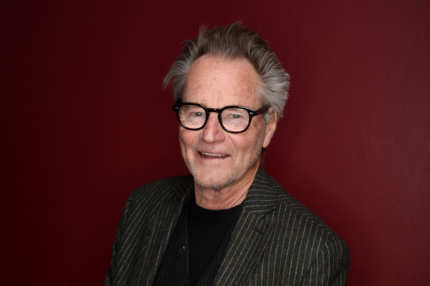 Actor Sam Shepard poses for a portrait during the 2014 Sundance Film Festival at the Getty Images Portrait Studio at the Village At The Lift Presented By McDonald's McCafe on January 18, 2014 in Park City, Utah.
