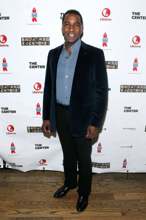 Actor Norm Lewis attends the 2014 Broadway Backwards afterparty at John's on March 24, 2014 in New York City.