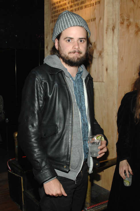 Winston Marshall== The Levi's brand presents a special NY screening of MISTAKE FOR STRANGERS After Party== Westway, NYC== March 26, 2014== ?Patrick Mcmullan== Photo- Paul Bruinooge/PatrickMcMullan.com-== ==