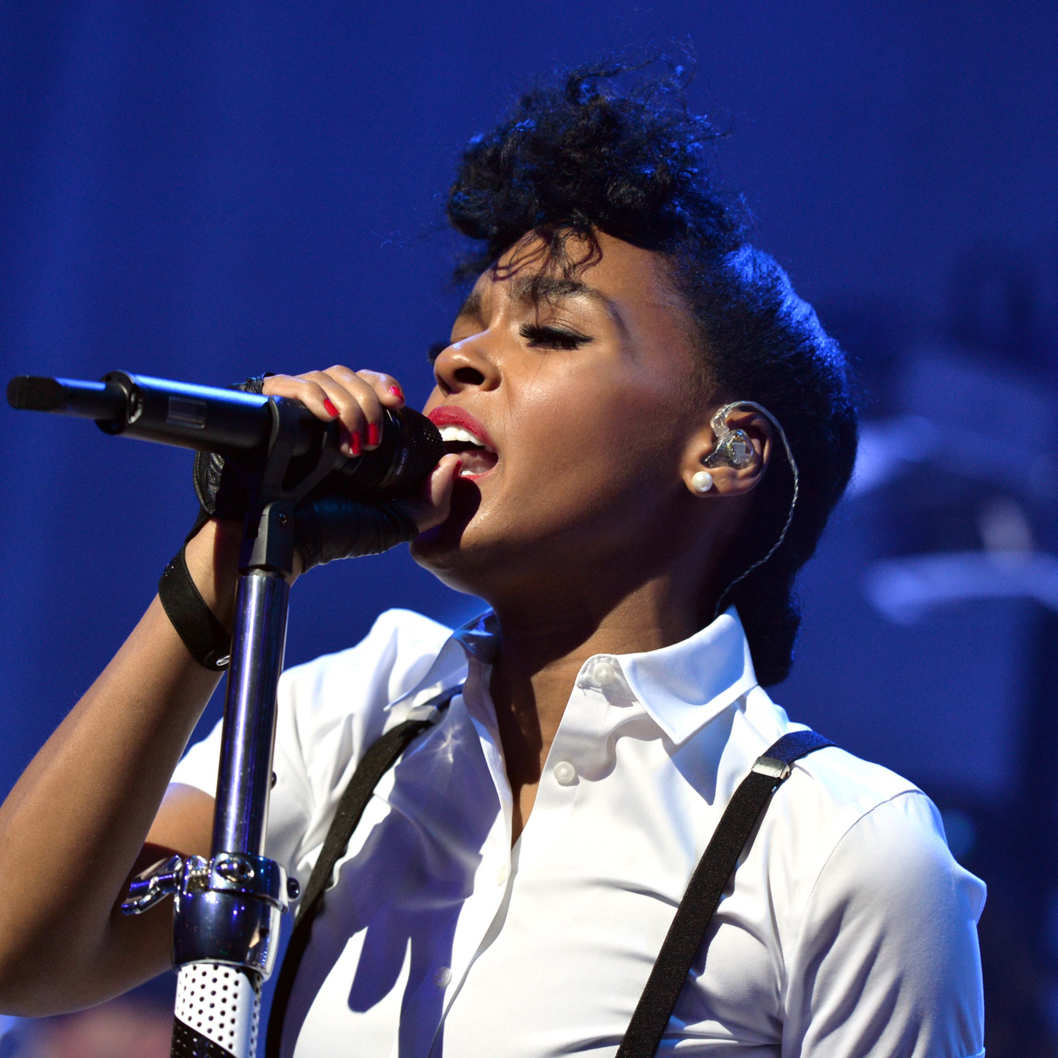 Clear Channel presents an exclusive performance with Janelle Monae as part of the iHeartRadio Live series at the iHeartRadio Theater on March 25, 2014 in Burbank, California.