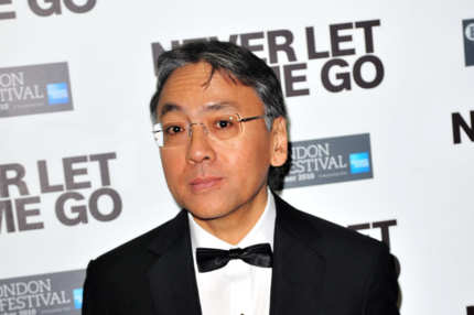 "LONDON, ENGLAND - OCTOBER 13:  Author Kazuo Ishiguro attends the ""Never Let Me Go"" afterparty during the 54th BFI London Film Festival at Saatchi Gallery on October 13, 2010 in London, England.  (Photo by Samir Hussein/Getty Images) *** Local Caption *** Kazuo Ishiguro"