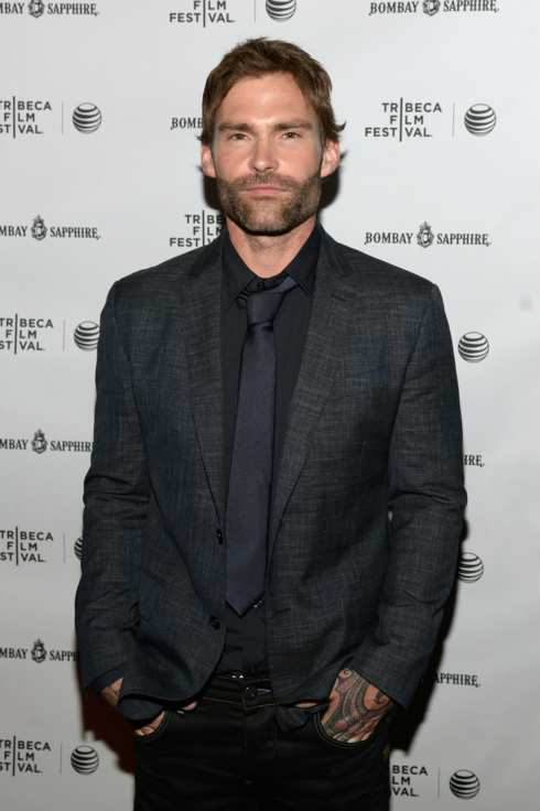 "NEW YORK, NY - APRIL 24:  Actor Seann William Scott attends the official after party for Courteney Cox's directorial debut ""Just Before I Go"" hosted by BOMBAY SAPPHIRE Gin at The Flatiron Room on April 24, 2014 in New York City.  (Photo by Dave Kotinsky/Getty Images for Bombay Sapphire)"