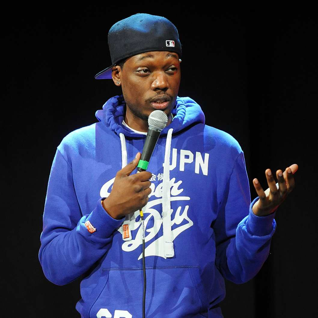 EDINBURGH, SCOTLAND - JULY 31:  Comedian Michael Che performs during the Assembly Rooms Press Launch at The Edinburgh Festival Fringe on July 31, 2013 in Edinburgh, Scotland.  (Photo by Scott Campbell/Getty Images)