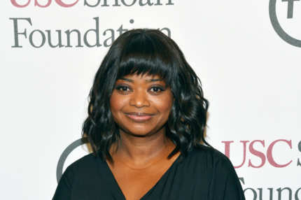 CENTURY CITY, CA - MAY 07:  Actress Octavia Spencer attends USC Shoah Foundation's 20th Anniversary Gala at the Hyatt Regency Century Plaza on May 7, 2014 in Century City, California.  (Photo by Michael Buckner/Getty Images for USC Shoah Foundation)