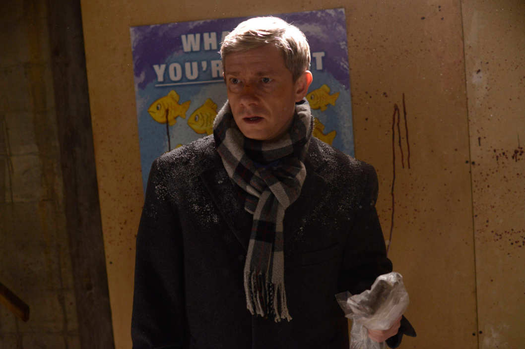 "FARGO ""Buridan's Ass"" -- Episode 106 -- Airs Tuesday, May 20, 10:00 pm e/p) -- Pictured: Martin Freeman as Lester Nygaard -- CR: Chris Large/FX"