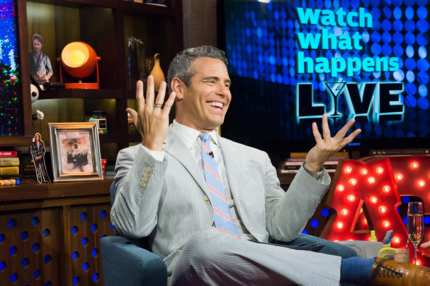 WATCH WHAT HAPPENS LIVE -- Episode 11096 -- Pictured: Andy Cohen -- (Photo by: Charles Sykes/Bravo/NBCU Photo Bank)