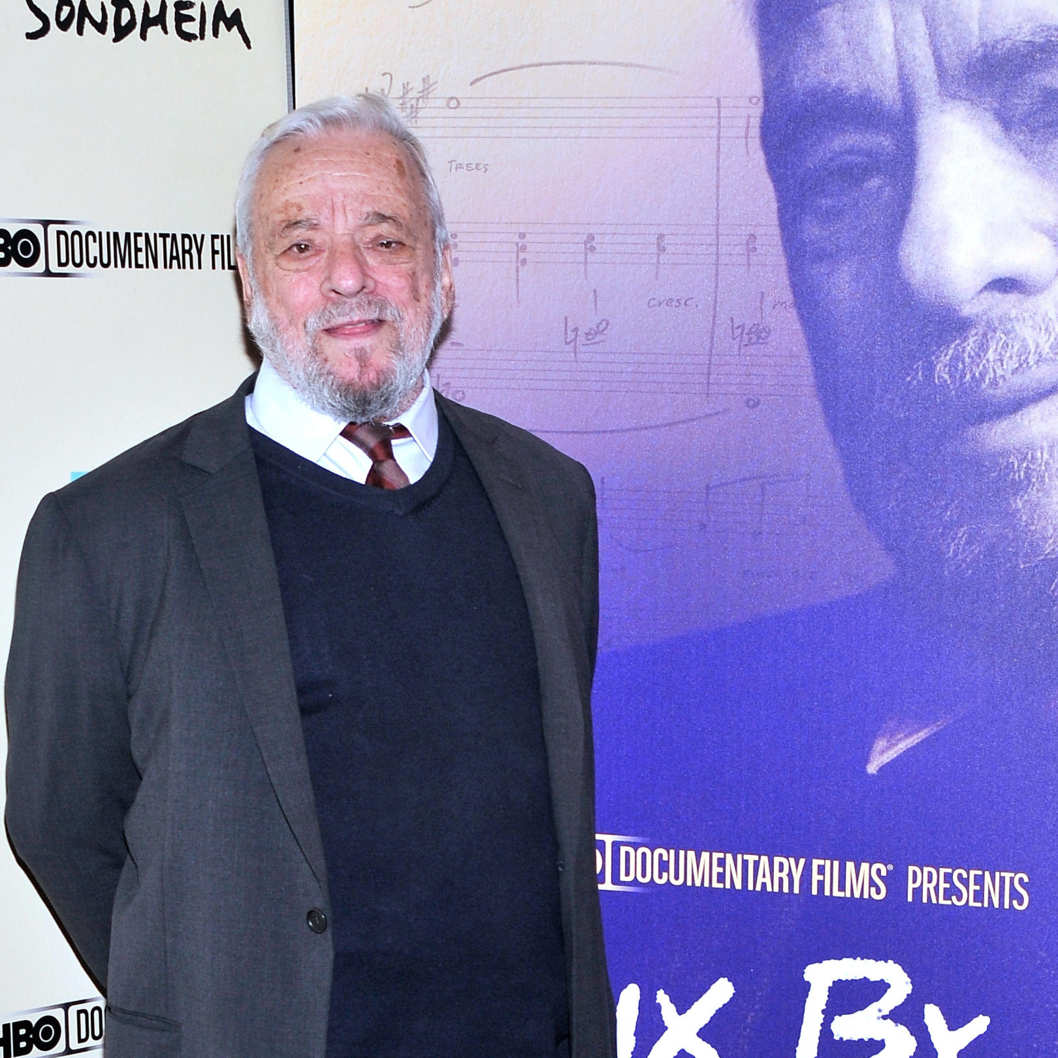 "NEW YORK, NY - NOVEMBER 18:  Composer Stephen Sondheim attends HBO's New York Premiere of ""Six by Sondheim"" at Museum of Modern Art on November 18, 2013 in New York City.  (Photo by Stephen Lovekin/Getty Images)"