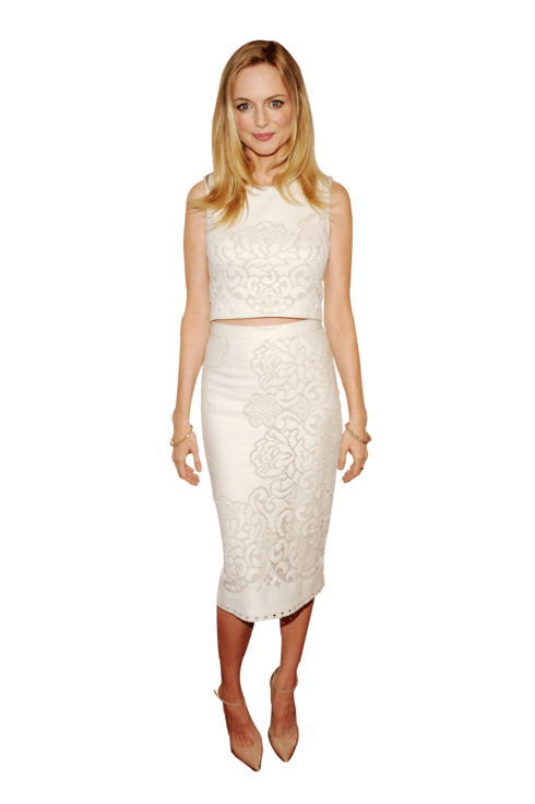 NEW YORK, NY - MAY 08:  Actress Heather Graham attends the 2014 A+E Networks Upfront on May 8, 2014 in New York City.  (Photo by Bryan Bedder/Getty Images for A+E Networks)