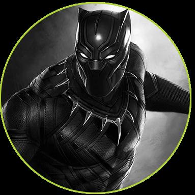 black panther superhero symbol - photo #23