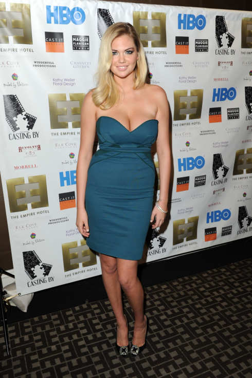 "NEW YORK, NY - OCTOBER 12:  Kate Upton attends the ""Casting By"" Premiere After Party During The 50th New York Film Festival at Empire Hotel on October 12, 2012 in New York City.  (Photo by Craig Barritt/Getty Images)"